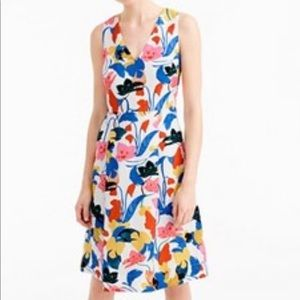 J. Crew Dresses - J Crew A Line Dress in Morning Floral